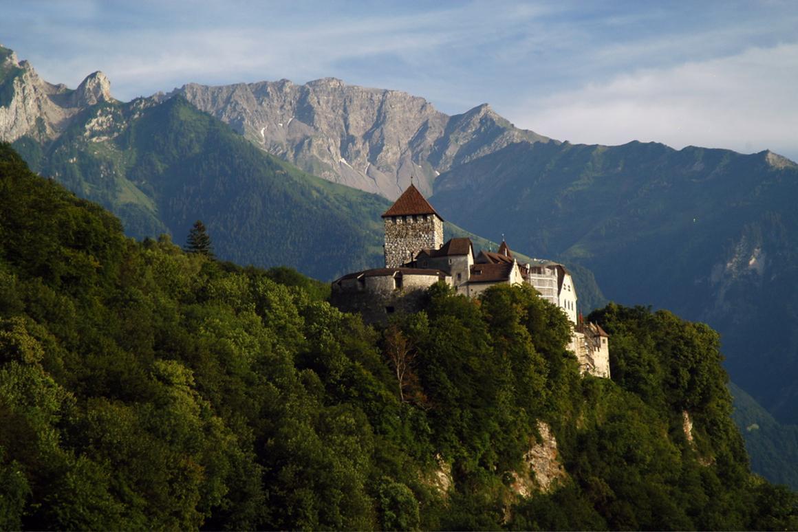 Vistors can raid the Prince's wine cellars at Vaduz Castle (Image: Mschlindwein via Flickr)