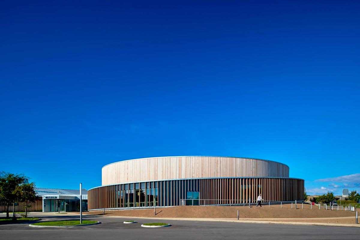 The newly-expanded Musholm, which is located in Korsør, Denmark, opened on October 1