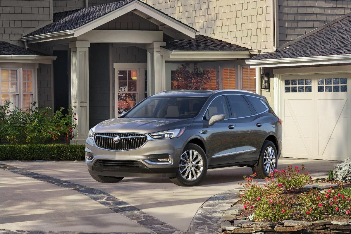 The first-generation Buick Enclave is now being replaced with a new generation for 2018 that's larger, sleeker, and more modern