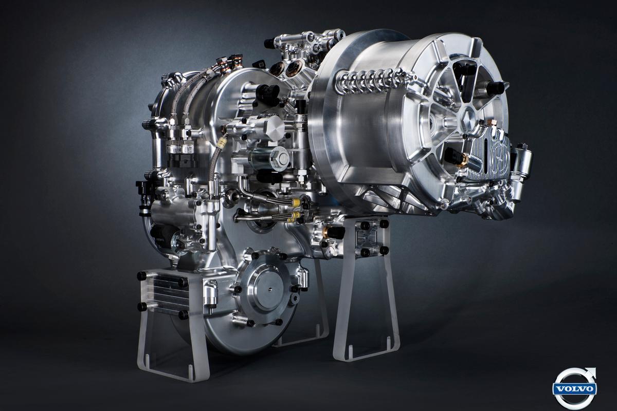 Volvo's Flywheel KERS