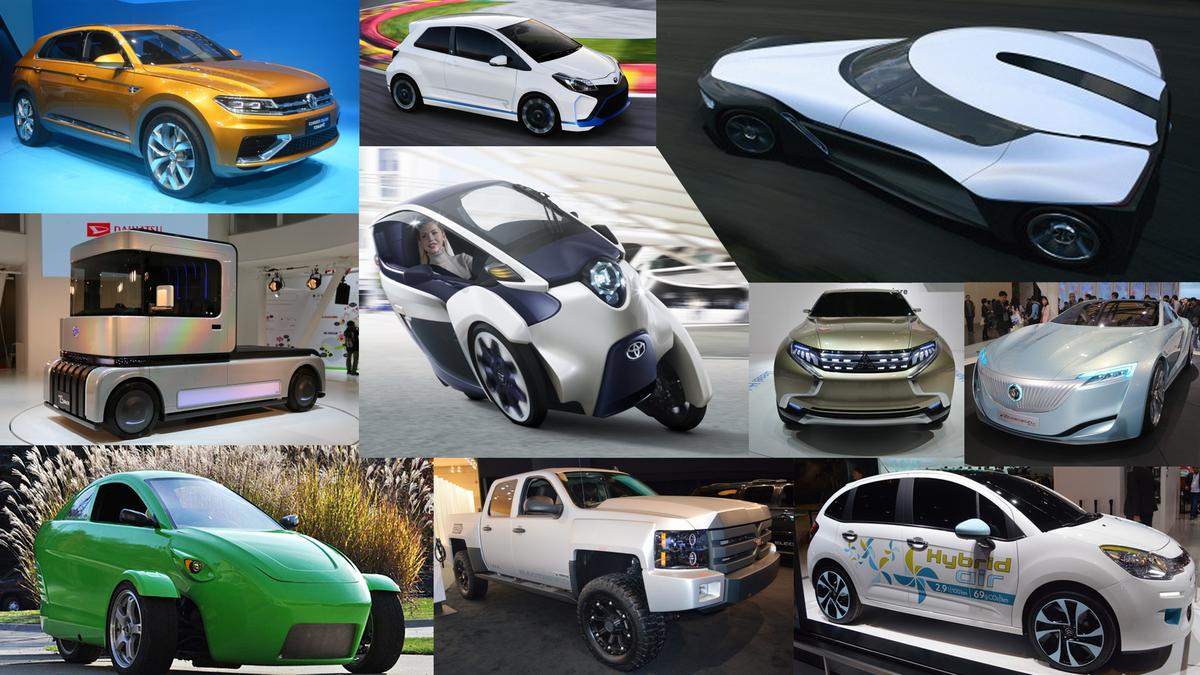 Gizmag takes a look at our favorite eco-friendly concept cars from the past 12 months
