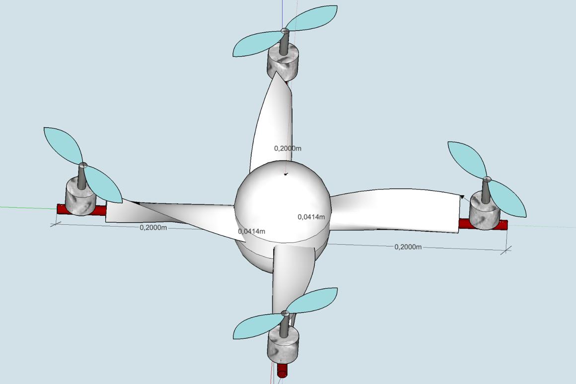 Patent illustration of the Meteodrone