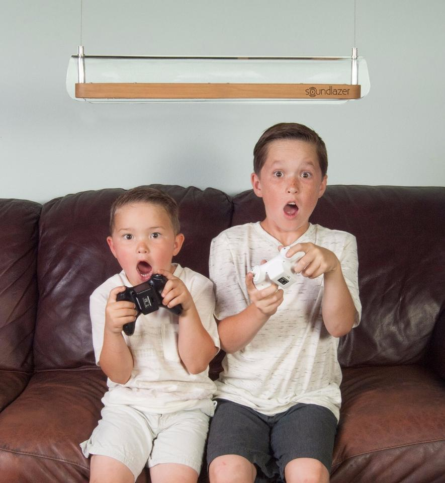 Living room gamers should be able to immerse themselves in the action without bothering others around them