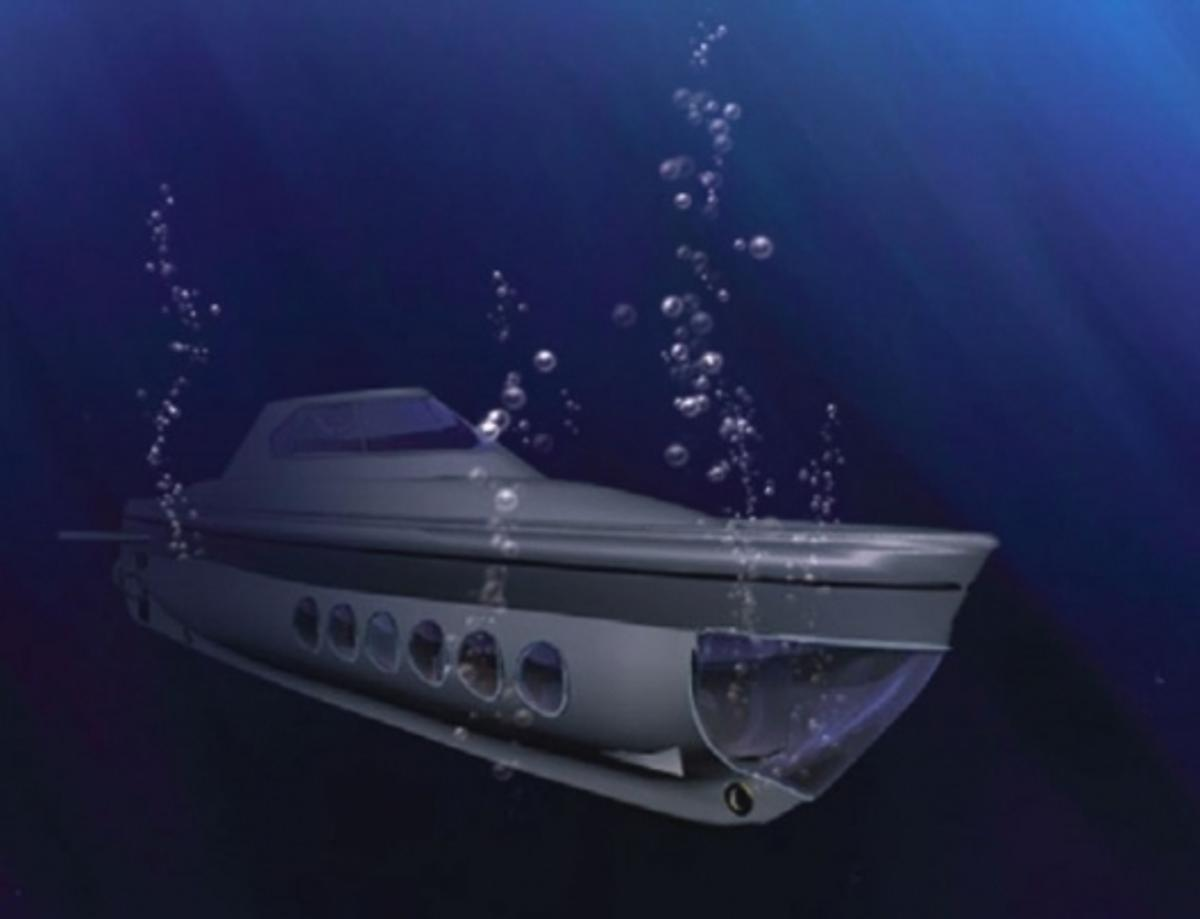 Project Goldfish plans to build a Solar Submarine