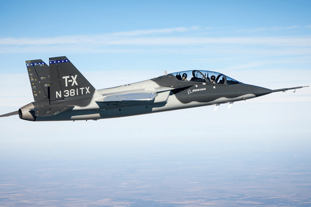 The US Air Force has ordered 351 Red Hawk T-7As