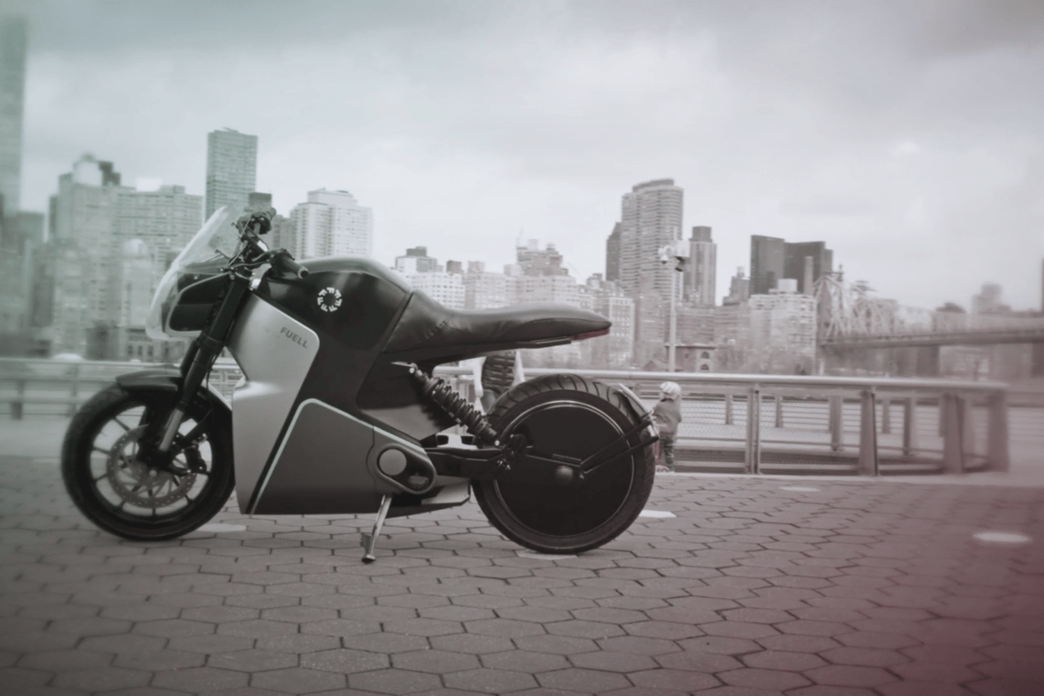 The Fuell Flow, an electric city commuter with more torque than we'd have imagined possible