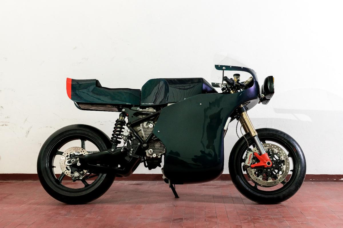 Apache Customs' Midnight Runner turned the Energica Eva into a 1980s endurance racer tribute