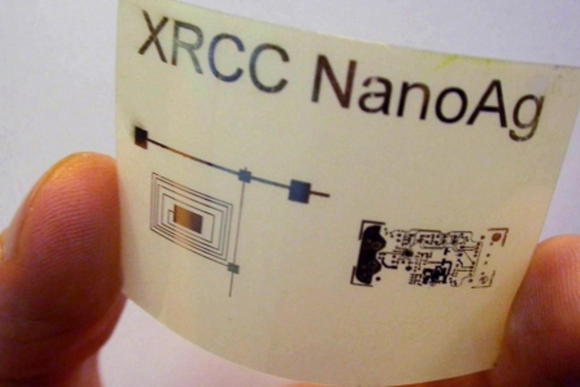 The silver ink developed by Xerox scientists that could make things like electronic clothing and inexpensive games a reality