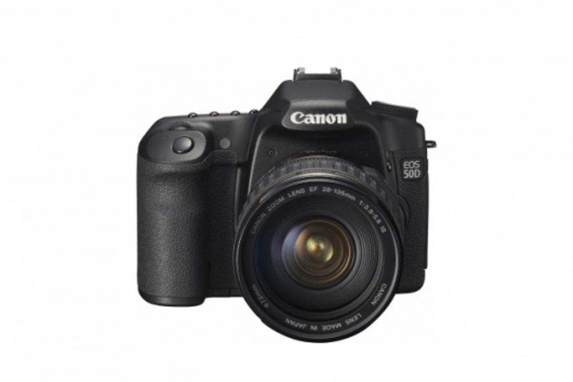 The 15.1-megapixel EOS 50D uses the new DIGIC 4 Image Processor