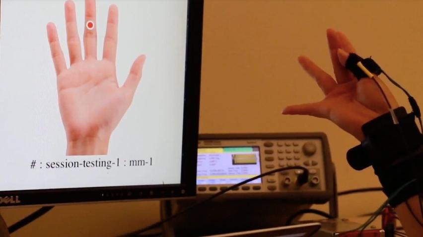 FingerPing currently recognizes 22 different hand gestures