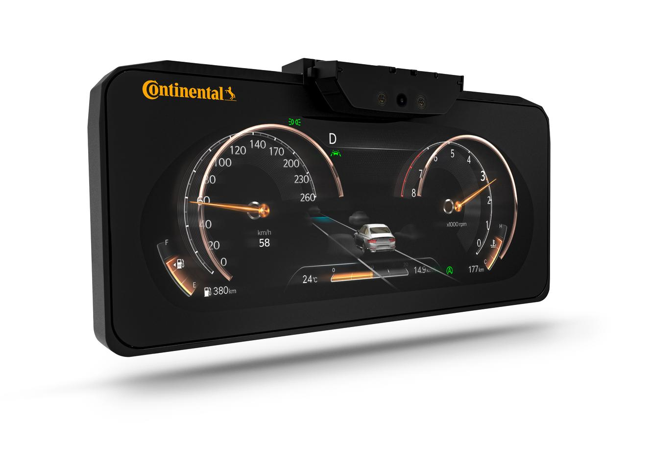 Continental's no-glasses-required 3D dash is coming to the Genesis GV80