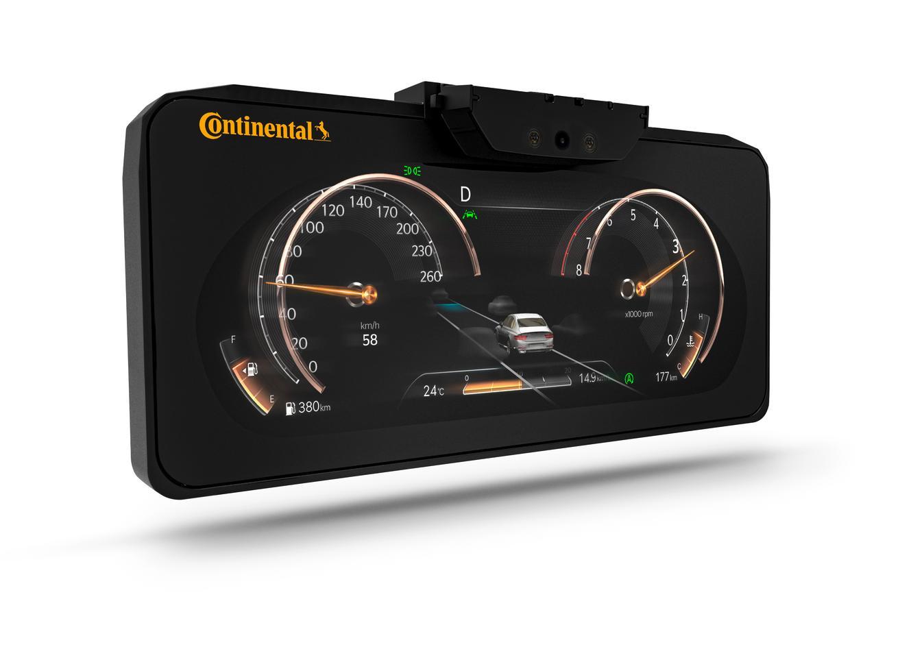 Le tableau de bord 3D sans lunettes de Continental arrive sur le Genesis GV80