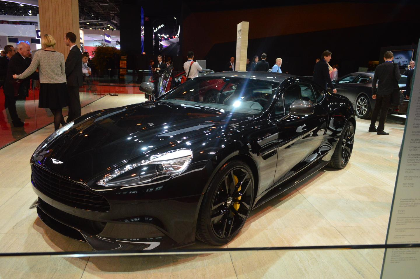 The 568-bhp Aston Martin Vanquish Carbon Edition (Photo: C.C. Weiss/Gizmag)