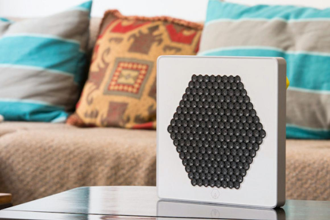 The A is a directional speaker currently being funded by an Indiegogo campaign