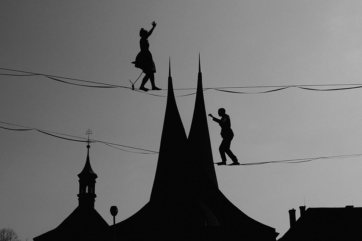 Nominee, Cityscapes, Professional. Life in Prague silhouettes