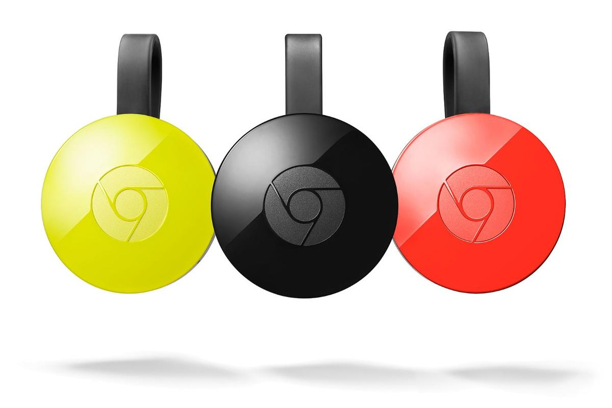 The new Chromecast comes in different colors