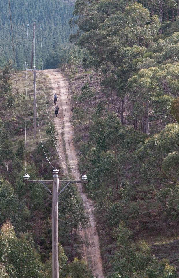 Stealth Bomber makes light work of hills - even massive slopes like these