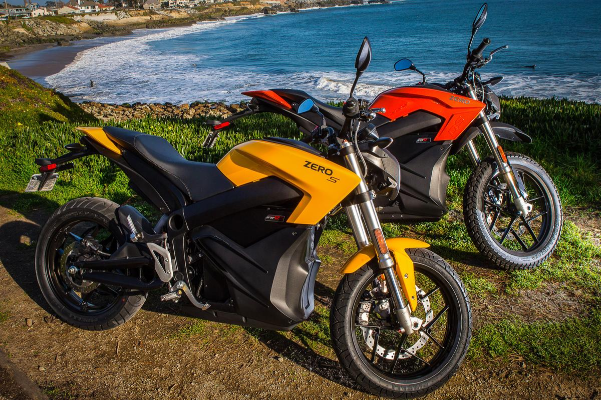 The 2015 Zero S and DS (Photo: Andrew Wheeler/AutoMotoPhoto)
