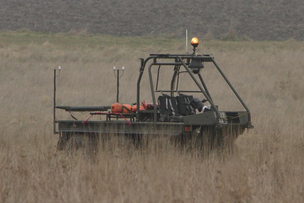 The MOATV could carry troops' supplies in the field