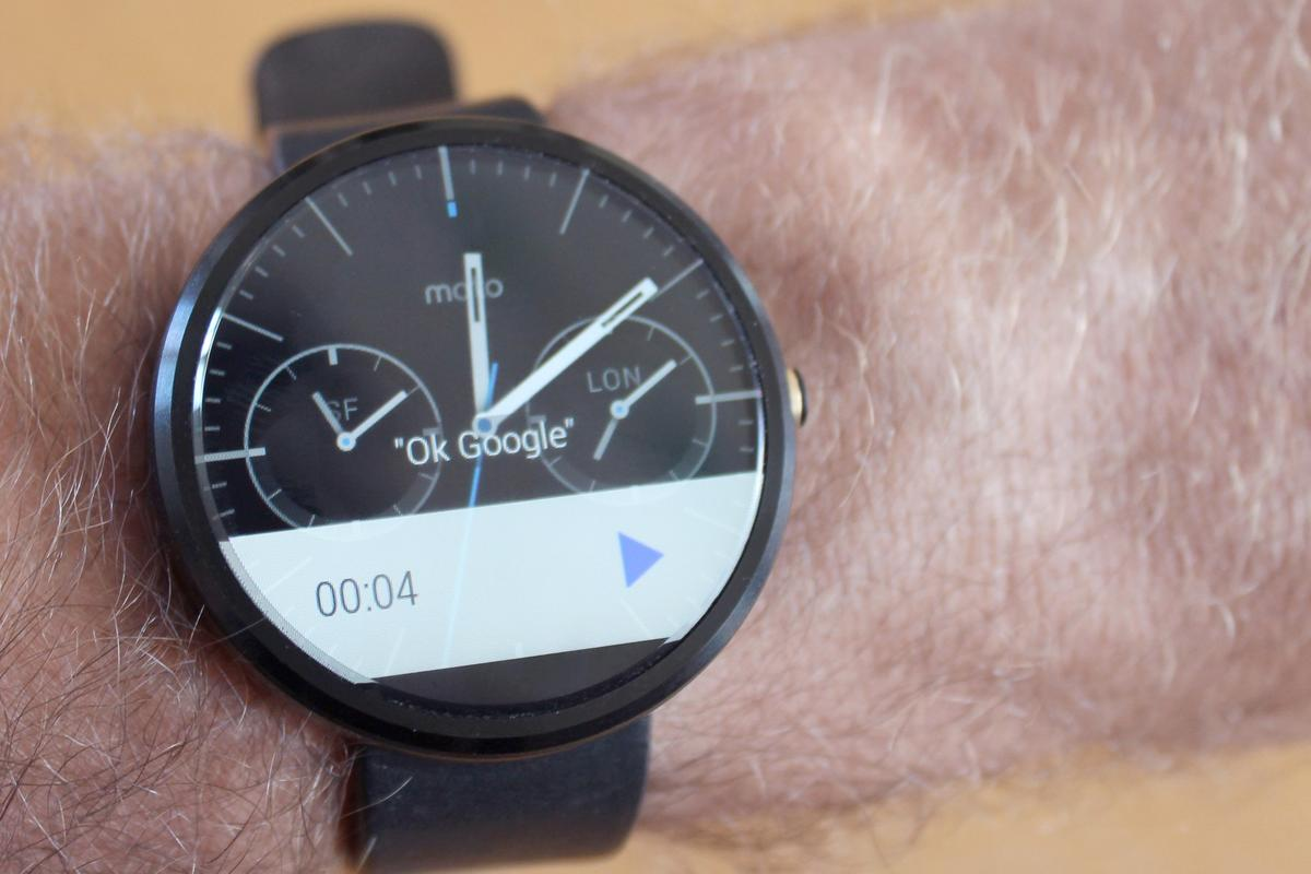 The Moto 360 is available now, starting at US$249 (Photo credit: Eric Mack/Gizmag.com)