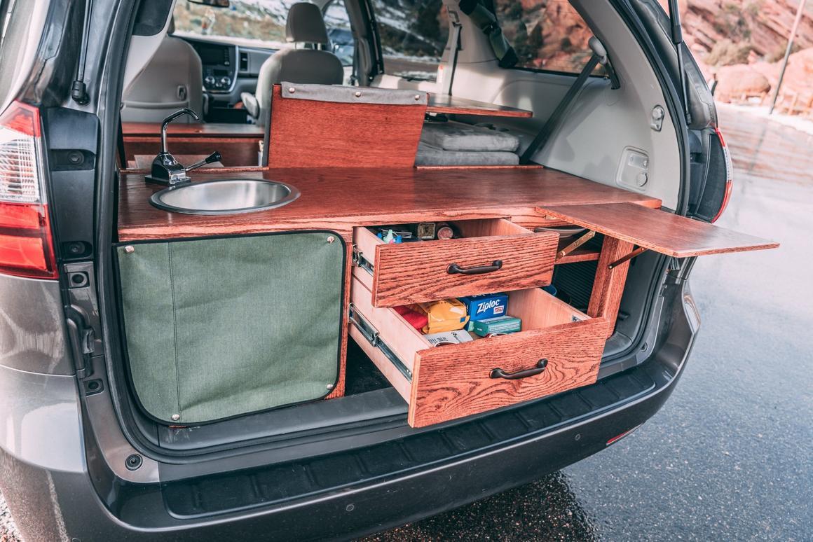 Colorado shop cures wanderlust by turning minivans into cozy