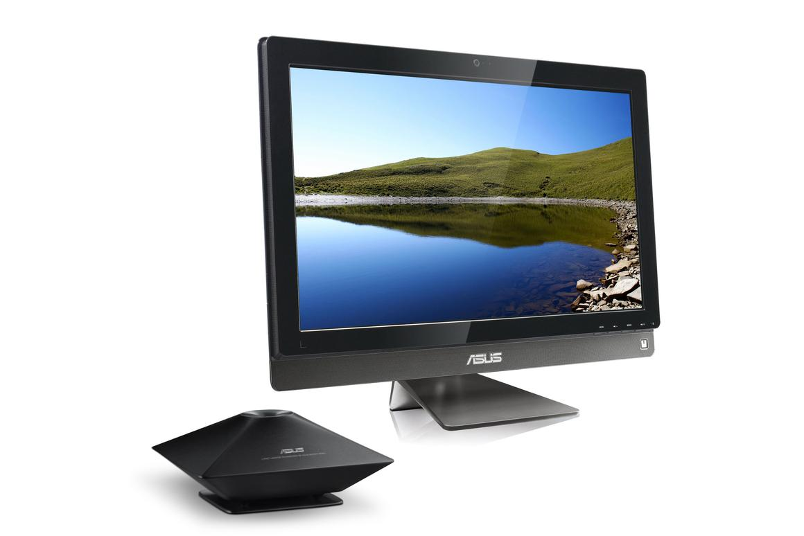 ASUS has introduced the ET2700 all-in-one computer series with a 10-point multi-touch panel and optional external subwoofer
