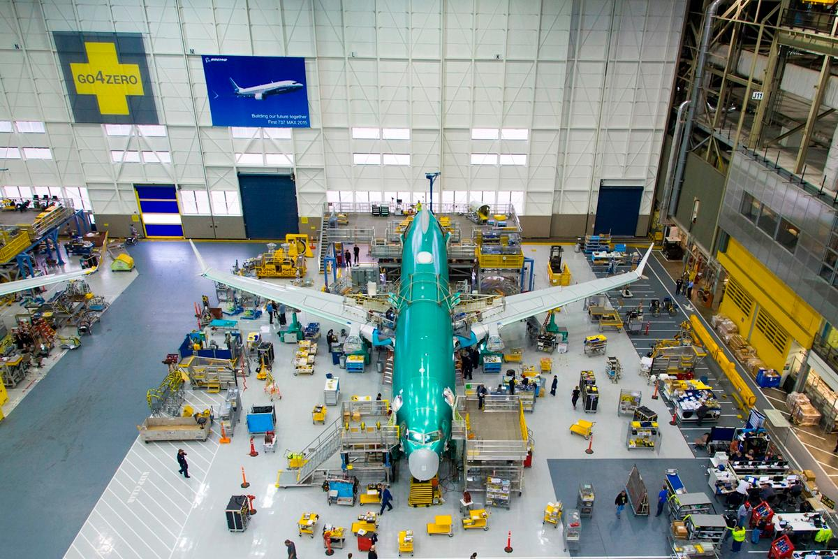 The 737 MAX team remains on track to roll out the first completed 737 MAX by the end of the year and fly it in early 2016