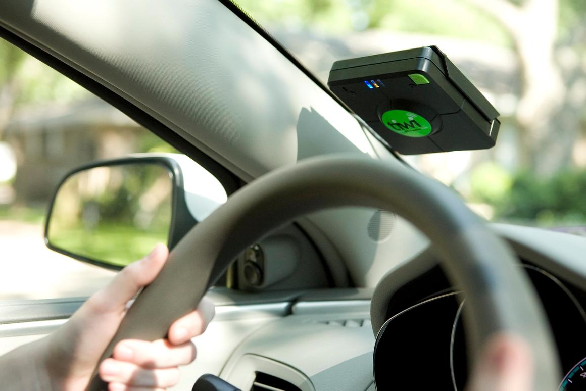 The tiwi is a device that electronically monitors and mentors teen drivers