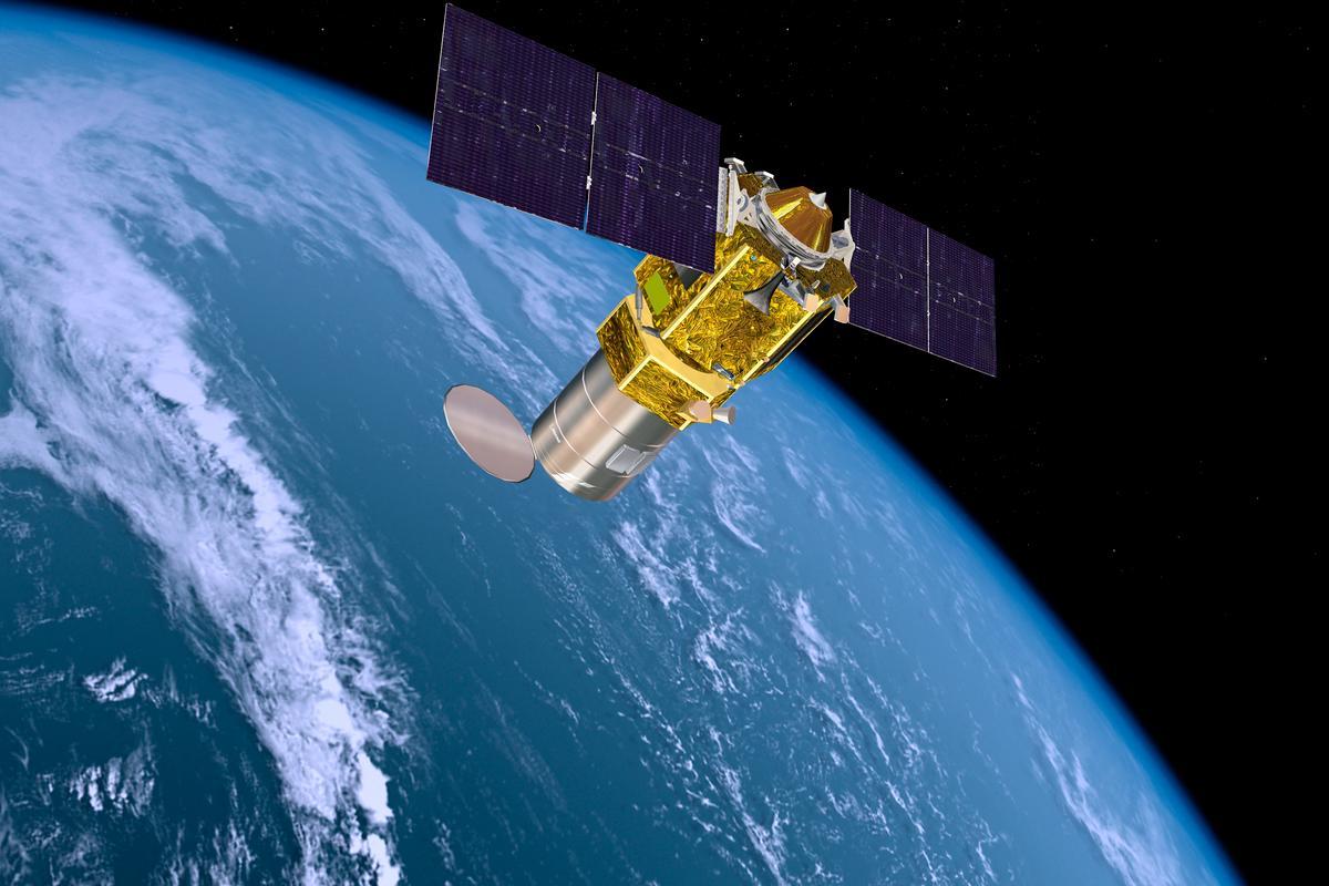 Artist's concept of a Phantom Phoenix Satellite