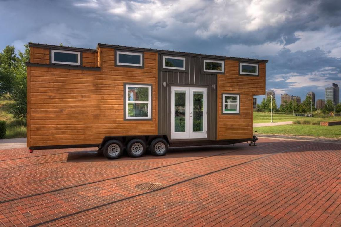 The Freedom tiny houserecently sold for US$57,000, fully-furnished