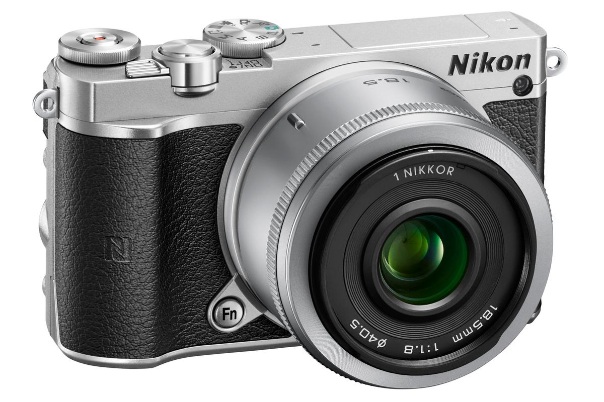 The Nikon 1 J5 has been given a stylish retro makeover