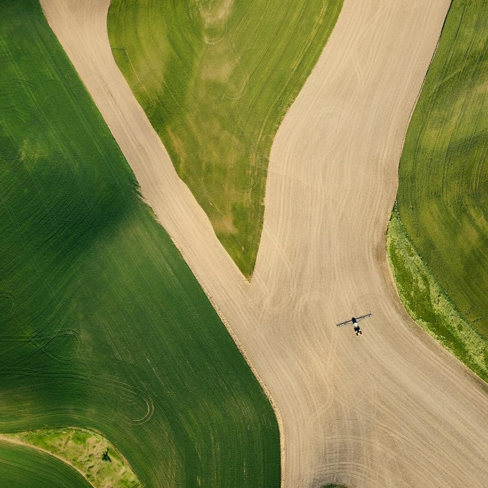 From Mitch Rouse's series 'Palouse V.2 - Looking Down'
