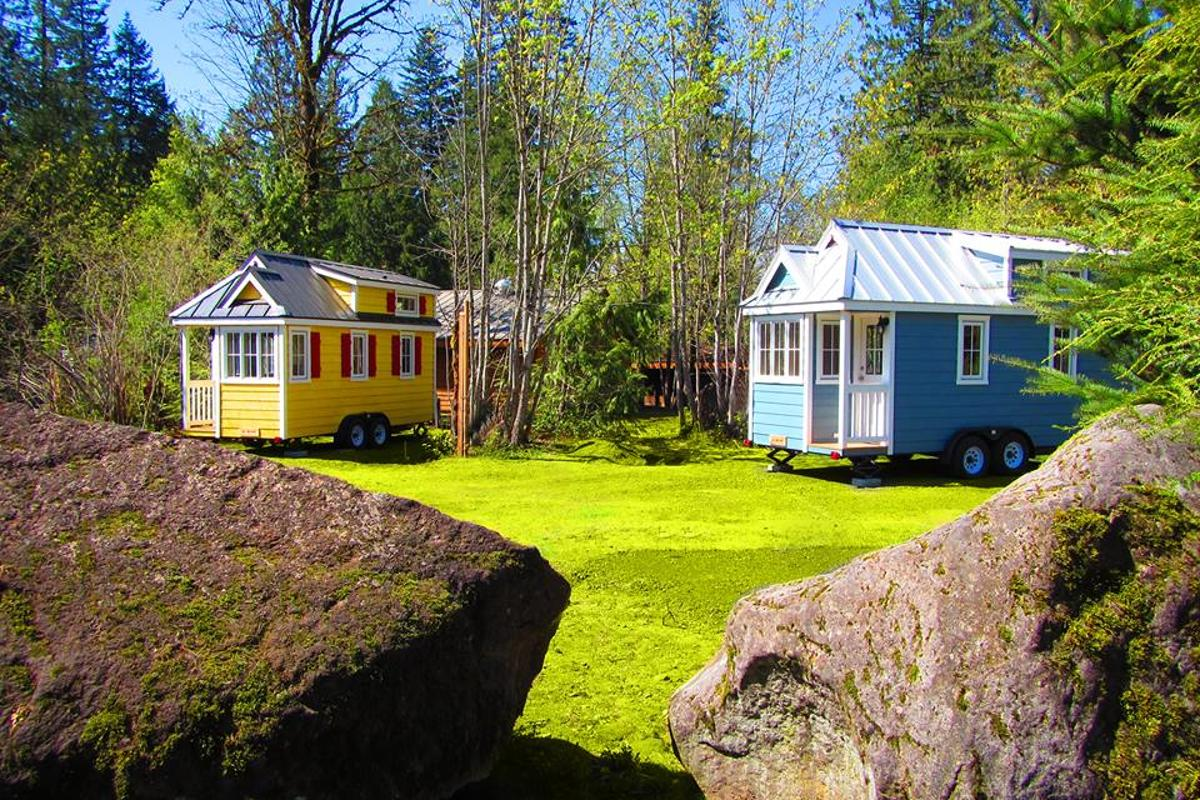 Staying in a tiny house in the village will set you back from US$129, per night