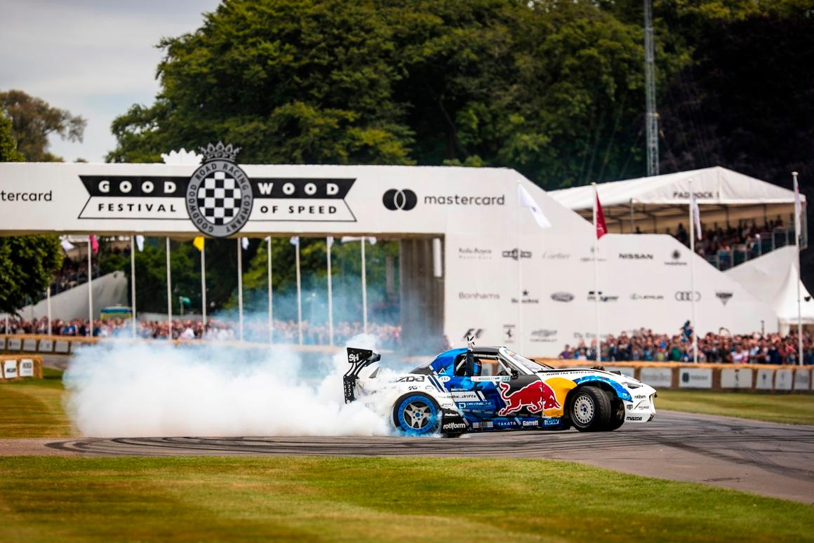 Goodwood Festival of Speed:It's safe to say this MX-5 is quicker than your average Mazda Miata