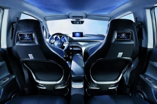 Inside the Lexus LF-Ch - super styling