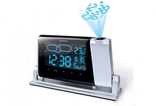 Projection Clock with Color Weather Forecast