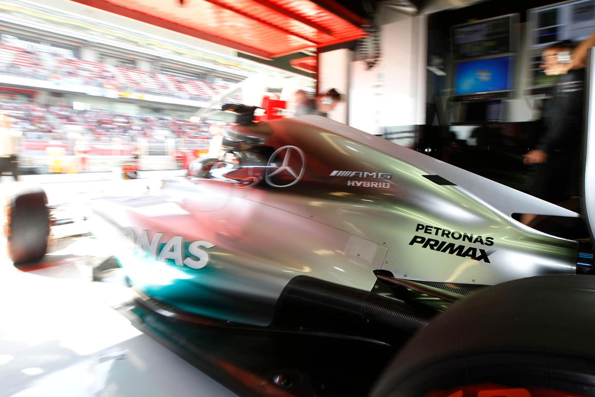 From five races this season, Mercedes-Benz has scored five poles, four fastest laps, five wins, three front-row lock-outs, four 1-2 finishes and led all 410 laps. The newly-christened F1 W05 Hybrid is on track to become the most successful race car in F1 history.