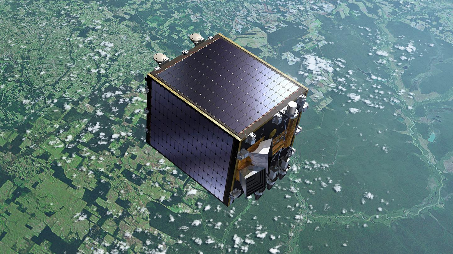 The Proba-V's infrared camera, which was developed by the agency in combination with Belgian company Xenics, focuses on shortwave infrared, detecting the health of vegetation from orbit (Image: ESA-P.Carril)