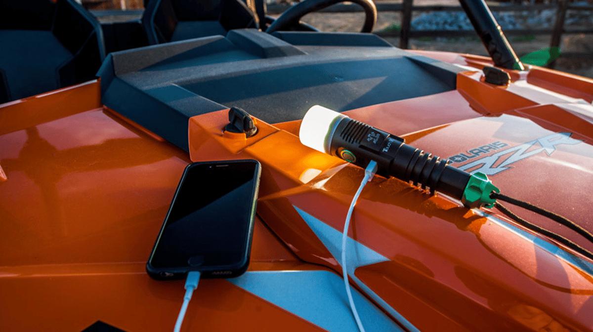 The SeTaTec Touch 1Kis designed asa smarter lantern-flashlight