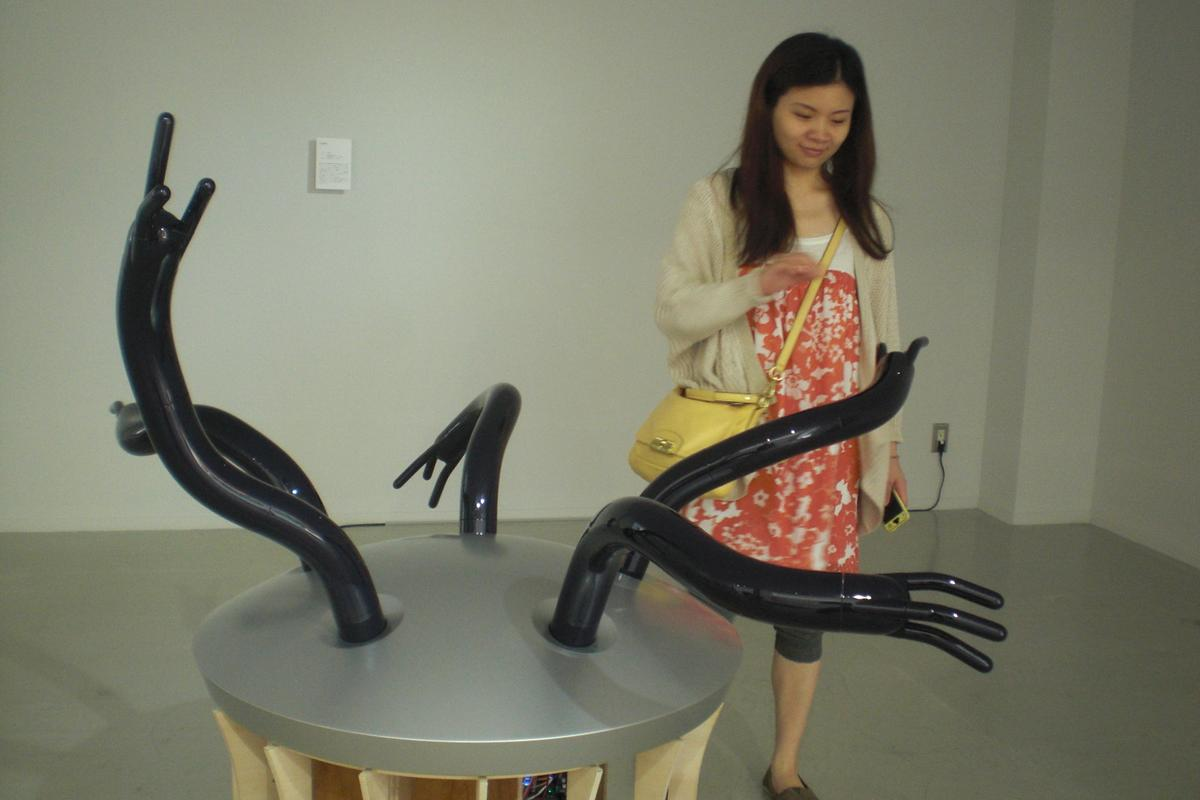 Researchers from the Yamanaka Laboratory at the University of Tokyo have been investigating the field of robot-human interaction since 2007 (Photo: Stephen Clemenger/Gizmag.com)