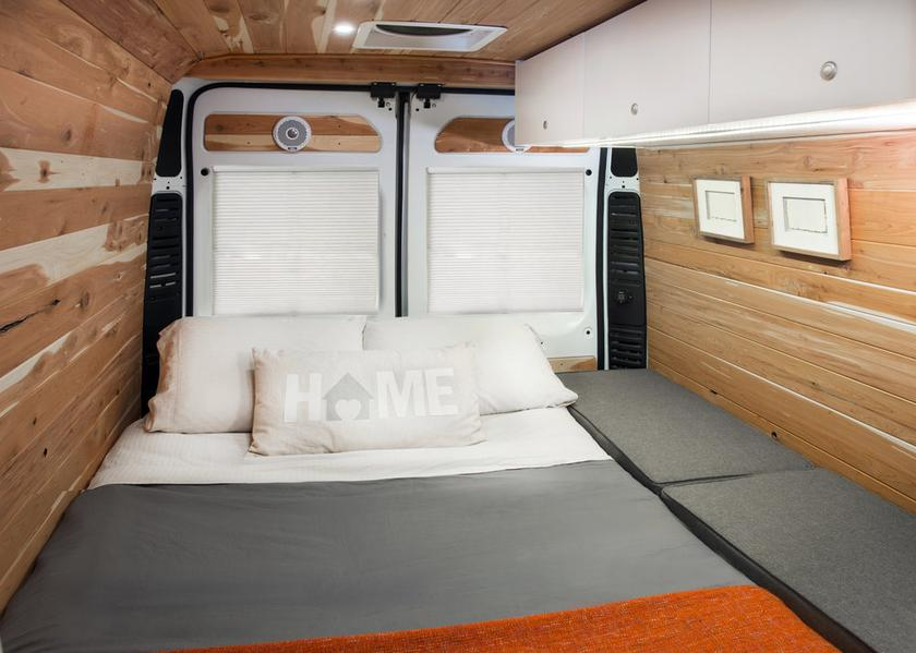 Solar-equipped Off Grid adventure van puts focus on