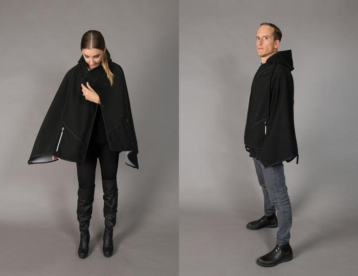 Mavari is a unisex surf cloak suitable for all fans of watersports