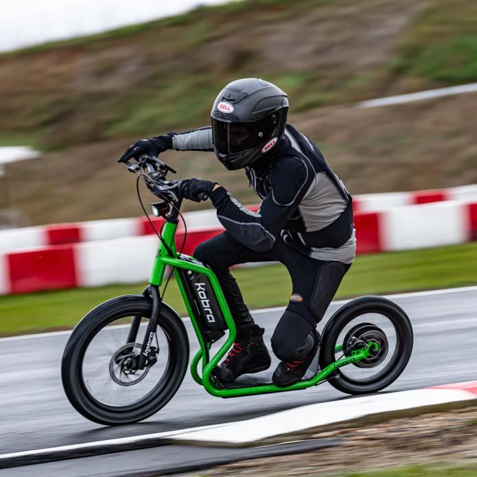 The Kobra Smart takes to the track