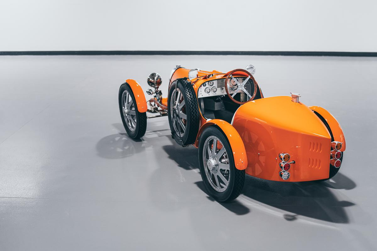 Bugatti has produced just 500 of its Baby II roadsters