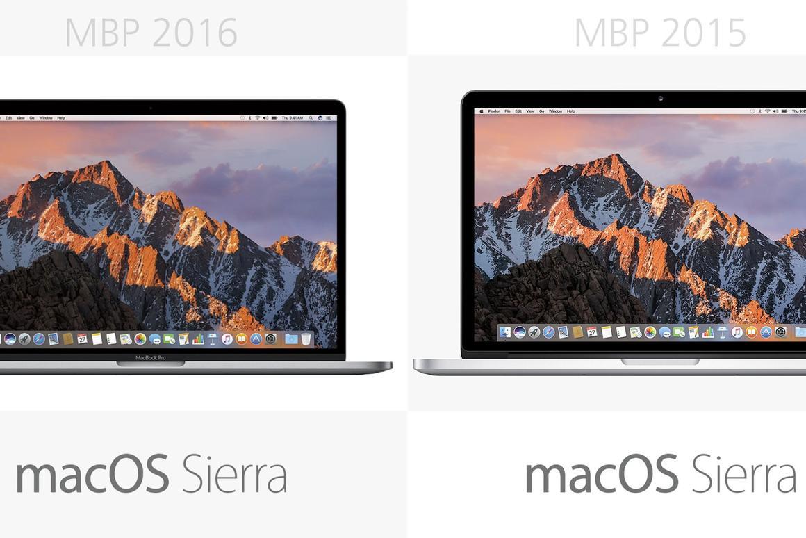 15-inch MacBook Pro: 2016 vs  2015