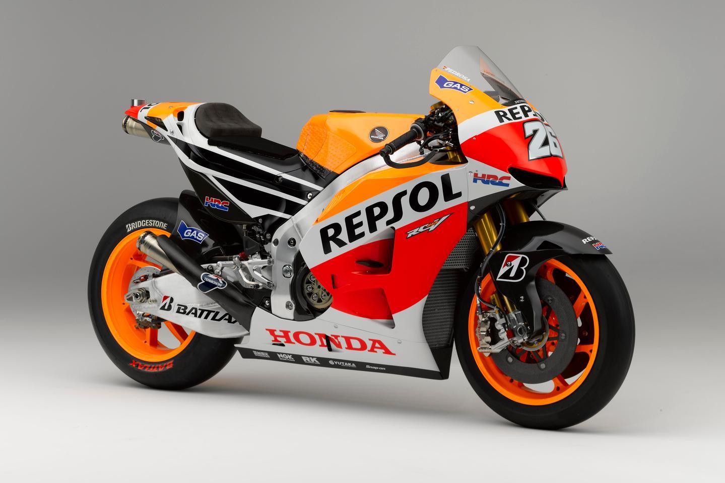 Honda's 2013 RC213V, the basis for the new production MotoGP bike