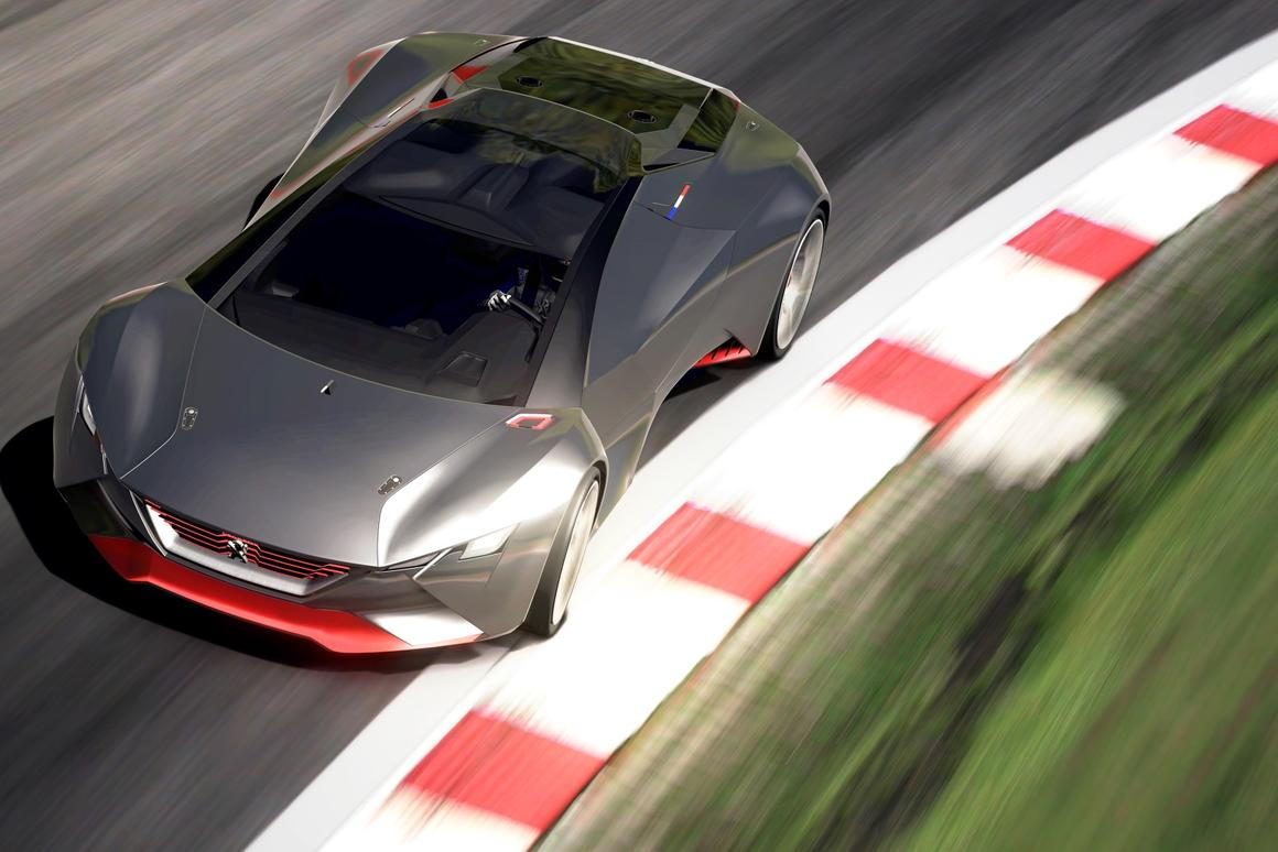 Peugeot's Vision GT is the latest car to hit Gran Turismo 6