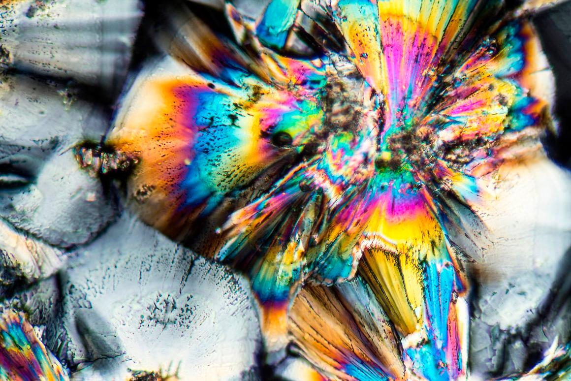 Micro-crystals of zinc, which when combinedwith othercommon minerals,could be substituted in for rare-Earth metals in electronic devices