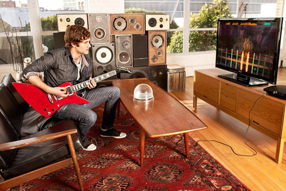 Rocksmith aims to teach players how to play a real guitar