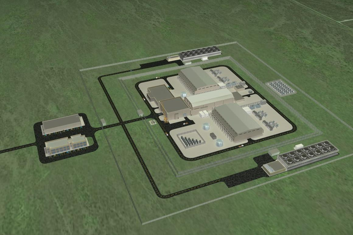 The SMR nuclear plants rely on a modular reactor design
